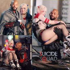#SuicideSquad: New Set Images of Will Smith's #Deadshot & Margot Robbie's #HarleyQuinn.