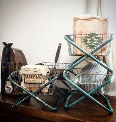 chikoさん流!100均のパイプ椅子をおしゃれにリメイク! | WEBOO[ウィーブー] 暮らしをつくる。