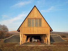 Reception Hut / BLIPSZ + Atelier F.K.M.