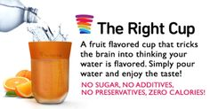 The fruit flavored cup that tricks the brain into thinking your plain water is flavored. | Crowdfunding is a democratic way to support the fundraising needs of your community. Make a contribution today!