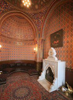 Interesting room in the Palace of Duke Vladimir