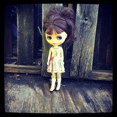 Maxs eye mech broke, she always has such a melancholy look It kind of fits her sweet badassness