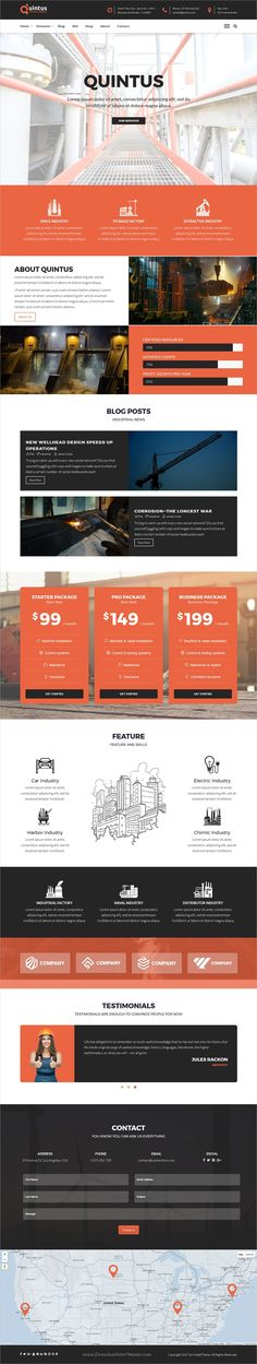 Quintus is a completely versatile responsive #WordPress theme for #industry, factory or engineering companies website with 8 unique homepage layouts download now➩ https://themeforest.net/item/quintus-industry-factory-engineering-wordpress-theme/19428336?ref=Datasata