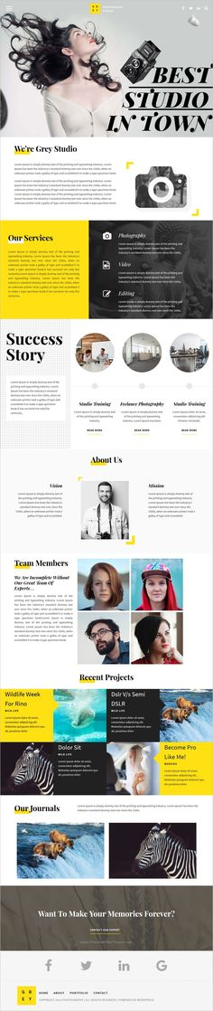 Photography is a beautiful and responsive 5in1 #WordPress theme designed for #photographers, #studios and art gallery websites download now➩ https://themeforest.net/item/photography-responsive-photography-theme/18448179?ref=Datasata