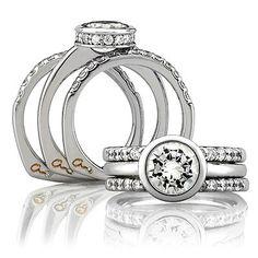 Mine! Custom designed to match this A. Jaffe bezeled beauty ❤