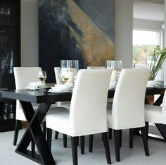 Exceptional Like The Black Dining Table Home Design Ideas
