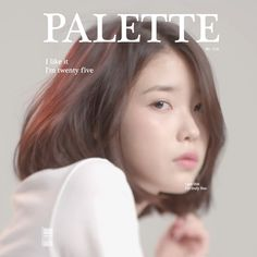 """IU with her song """"Pallete"""" entered the list Song that Tell Us Where Music Is Going"""" by The New York Times magazine, and the only one. Iu Short Hair, Short Hair Styles, Kpop Girl Groups, Kpop Girls, Queen Pictures, New York Times Magazine, Kdrama Actors, White Aesthetic, Aesthetic Makeup"""