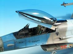 "Diego Quijano Scaleworks: The ""Aggressor Viper"" work: Tamiya 1/48."