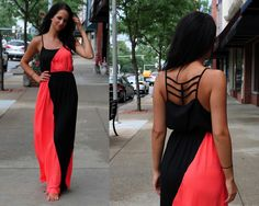 We LOVE summer and maxi dresses!