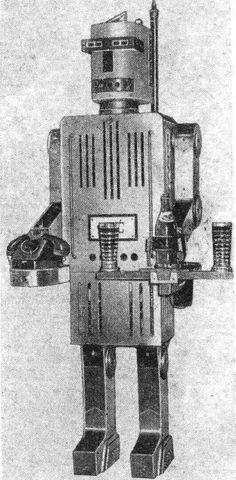 Boris Grishin, телефон робот (Phone Robot), 1966.
