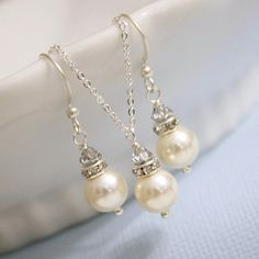 Sterling Silver Jewelry Set IvoryPearl and by alexandreasjewels, $20.00