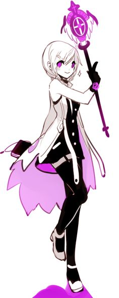 Mika: Greetings! My name is Mika and I am a witch. I would greatly enjoy getting to know everyone.