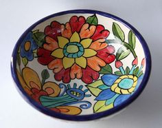 Large Hand Thrown Serving Bowl by Kristin by ColorfulPottery