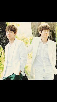 Baekhyun and Suho