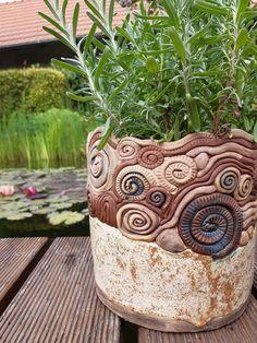 Clay Vase, Ceramic Materials, Garden Art, Photo Art, Planter Pots, Pottery, Ceramics, Tumblers, Vases