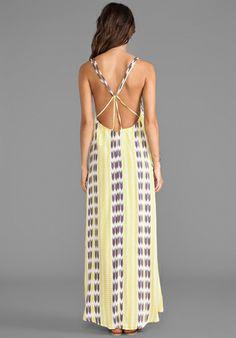 Moorea Maxi Dress - Acacia Swimwear