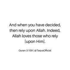 Trust Me Quotes, Quran Quotes Love, Allah Quotes, Muslim Quotes, Religious Quotes, Faith Quotes, Best Quotes, Islamic Inspirational Quotes, Islamic Quotes
