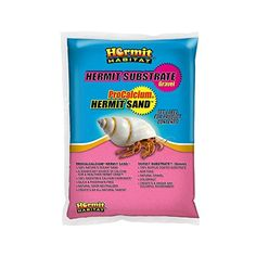 2.2 Pound Purple; Size Carib Sea 6 Pack Crabitat Hermit Crab Sand Catalog Category: Reptile:Substrate Color