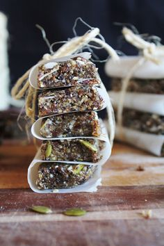 Super Food Energy Bars with Cacoa - Raw
