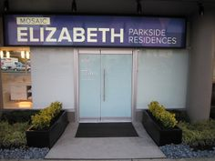 Great signage and beautiful curb appeal! Business sign produced and installed by FASTSIGNS Vancouver for Mosaic Elizabeth www.fastsigns.com/653 Wayfinding Signs, Signage, Site Sign, Monument Signs, Channel Letters, Your Location, Business Signs, Curb Appeal, Vancouver