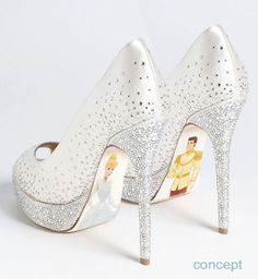 custom hand painted cinderella heels disney shoesdisney