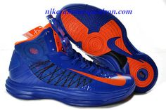 check out 261db 8b1d3 Nike Lunar Hyperdunk 2012 Prime Blue Vivid Orange 535359 102