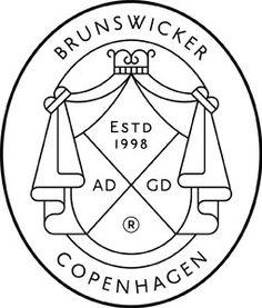 Brunswicker Logo http://www.visual-journal.net/post/41857451161/brunswicker-logo