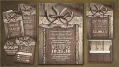 RUSTIC WEDDING | Wedding and Party Invitations