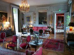 Sitting room, Chateau De Saint-Paterne | OLYMPUS DIGITAL CAMERA