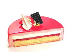 Patisserie Fine, French Patisserie, Baking Recipes, Cake Recipes, Dessert Recipes, Fancy Desserts, Delicious Desserts, Entremet Recipe, Cake Decorating For Beginners