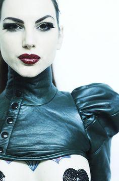 Love this bolero/neck corset too! Pasties and ...