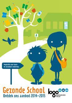 Website met educatief materiaal rond gezondheid.