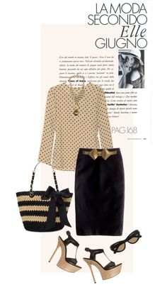 """Skirt by J CREW"" by fashionmonkey1 ❤ liked on Polyvore"