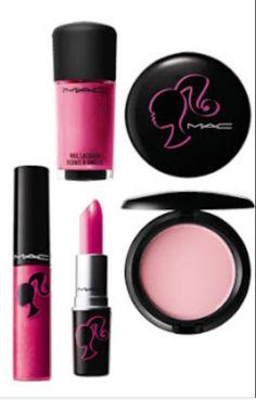 Mac Cosmetics Barbie Collection