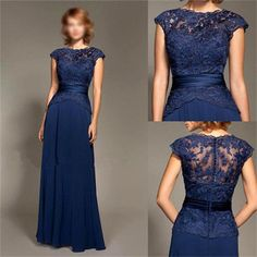 New Chiffon Lace Evening Formal Party Cocktail Bridesmaid Prom Gown Mother Dress Evening Party Gowns, Mermaid Evening Dresses, Prom Party Dresses, Formal Evening Dresses, Prom Gowns, Dress Formal, Pageant Dresses, Occasion Dresses, Bridesmaid Dresses Online