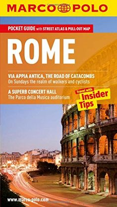 Shop for Rome Marco Polo Pocket Guide (marco Polo Travel Guides). Starting from Choose from the 6 best options & compare live & historic book prices. True Online, Rome Attractions, Saint Peter Square, Catacombs, Marco Polo, Part Time Jobs, Great Hotel, Concert Hall, Holiday Destinations