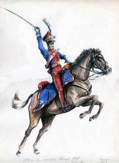 Officier lancier polonais 1808 -