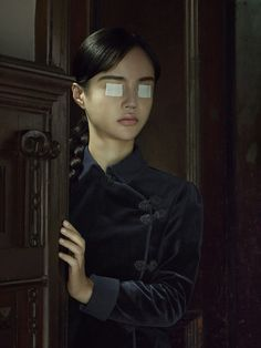 Available for sale from Danysz Gallery, Erwin Olaf, Shanghai Portrait 03 75 × 56 cm Erwin Olaf, Ninja Turtle Birthday, Turtle Party, Photographie Portrait Inspiration, Carnival Birthday Parties, Jolie Photo, Photojournalism, Shanghai, Photo Art