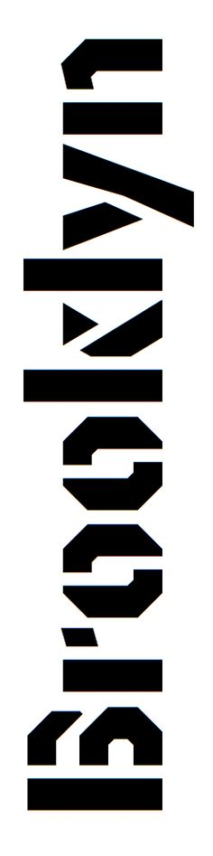 Brooklyn #type #typography