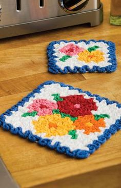 May Flowers Hot Pad