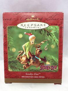 Hallmark Keepsake Ornament 2000 Shaggy And Scooby Doo Ornament Collectible