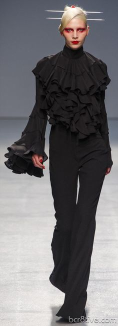 Gareth Pugh Spring Summer 2013 Ready To Wear Collection....You've come a long way baby!