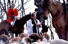 Blessing of the Hounds - Montreal Hunt Club, est. 1826