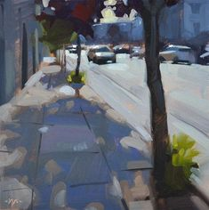 """Tree Shadows"" - © Carol Marine"