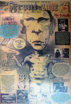 Front Zine Nº 11 publicado pelo Clube dos Quadrinheiros de Manaus no extinto Jornal do Norte em 06 de abril de 1996 com autoria de Fábio Prestes, João Vicente, Mário Orestes Silva e Daniel Dante.