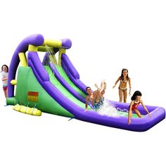 Purchase the Kidwise Double Inflatable Water Slide for less at Walmart.com. Save money. Live better.