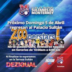 Este 5 de Abril ven y canta con nosotros el PLAYBALL, por que si tu eres SULTÁN??? #UnPalacioUnEquipoPasiónReal