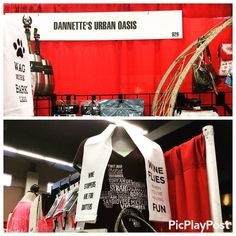 Good Morning #riseandshine @danettesoasis is ready on opening day @fortworth_stockshow_rodeo 2017 #booth829 @danettesoasis #giftoftheday #newarrivals #floursacktowels #winelover #craftbeerlover #doglover #giftsforhim #giftsforher #shopsmall @danettesoasis