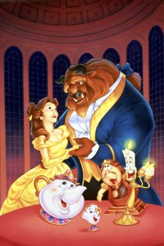 Wahoo! There's going to be a new Beauty and the Beast movie