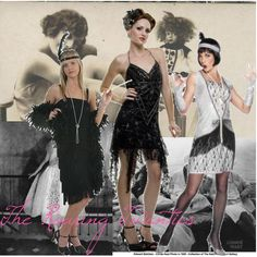 2) something from the 20's - flapper fashion